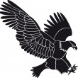 Eagle vector — Stock Vector