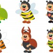 Insects vector — Stock Vector