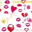 Royalty-Free Stock Vektorgrafik: Valentine`s day vector