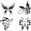 Royalty-Free Stock Vectorielle: Butterfly vector