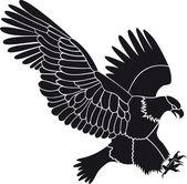 Eagle vector — Stock Vector