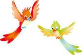 Birds vector — Stock Vector