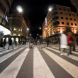 Pedestrian zebra crossing on busy street — Stock Photo #2195058