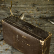 Old worn out suitcase — Stock Photo #2195598