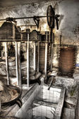Abandoned leather factory — Stockfoto