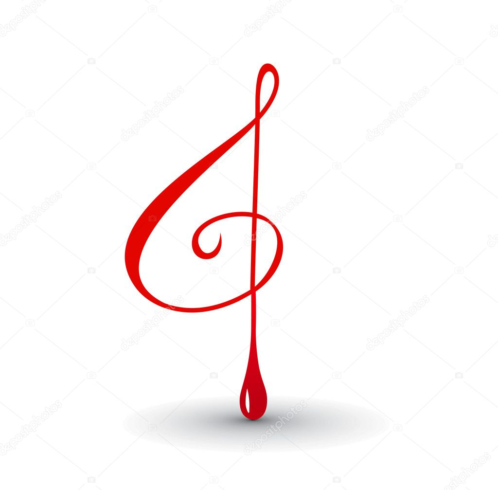Music notes for design use your project,  vector illustration  Stock Vector #2364882