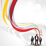Success businessman silhouette — Stock Vector #2514892