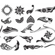 Royalty-Free Stock Vektorfiler: Tattoo element