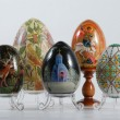 Stock Photo: Various eggs