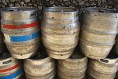 Beer barrels — Stock Photo