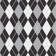Seamless argyle pattern (vector) - Stock Vector