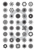 Typo ornaments (vector) — Stock Vector