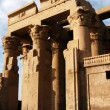 Temple of pharaoh Sobek in Kom Ombo - Stock Photo