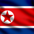 Flag of North Korea — Stock Photo #2296887