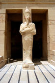 Statue of pharaoh — Stock Photo