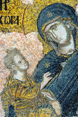 Mosaic of Virgin Mary and Jesus Christ — Foto de Stock