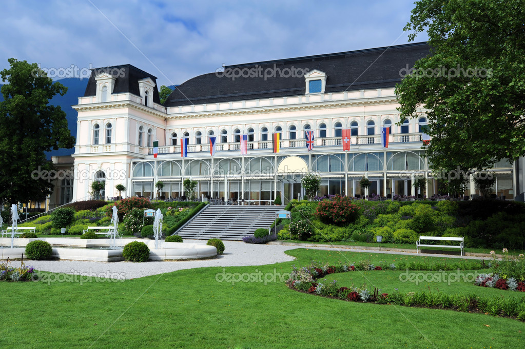 The Kongress & TheaterHaus was built in 1875 as Kurhaus in Bad Ischl, Austria — Stock Photo #2296122