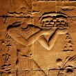 Ancient hieroglyphics - Stock Photo