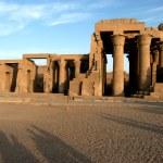 Temple of pharaoh Sobek in Kom Ombo — Stock Photo