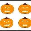 Royalty-Free Stock Photo: Halloween pumpkins