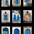 Tunisian doors - Stock Photo