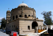 Hanging Coptic church in Cairo — Stock Photo