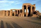 Temple of pharaoh Sobek in Kom Ombo — Stock Photo