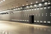 Modern locker room — Stock Photo