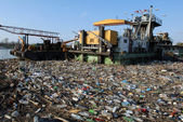 Dangerous toxic garbage — Stock Photo