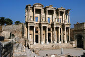 Antiga biblioteca celsius em efes — Foto Stock