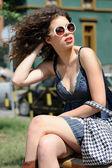 Attractive female beauty — Stock Photo