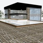 3D render of modern house — Stock Photo #2332444