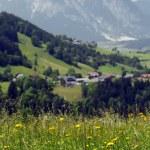 paisagem alpina — Foto Stock