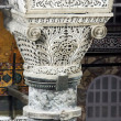 Pillar in the Hagia Sofia — Stock Photo