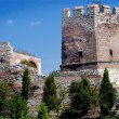 Ancient wall in Constantinople — Stock Photo