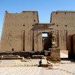 Ancient temple Edfu in Egypt — Stock Photo