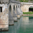 old stone bridge in visegrad — Stock Photo #2333555