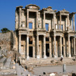 Ancient Celsius library in Efes — 图库照片