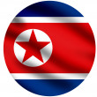 Flag of North Korea — Stock Photo #2334746