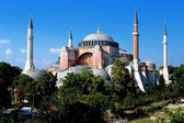 Basílica de santa sofia em istambul — Foto Stock