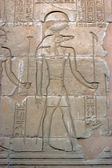 Kom Ombo, crocodile God Sobek — Stock Photo