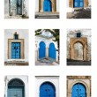 Tunisian doors — Stock Photo