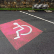 Handicap sign — Stock Photo #2360916