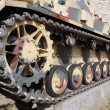 Tank wheels — Stock Photo