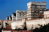 Surrounding wall, Constantinople — Stock Photo