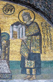Mosaic of Emperor Constantine — Stock Photo