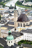 Urban panorama, Salzburg — Stock Photo