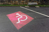 Handicap sign — Stock Photo
