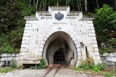 Entrance to the mine, Hallstatt — Stock Photo