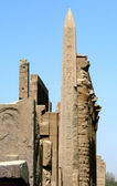 Great obelisk in Luxor — Stock Photo